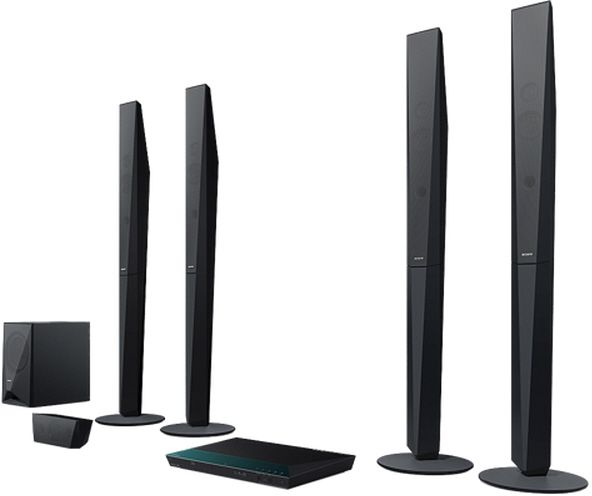 Buy Sony Blu-ray Home Theater System with NFC and Bluetooth - BDV ...