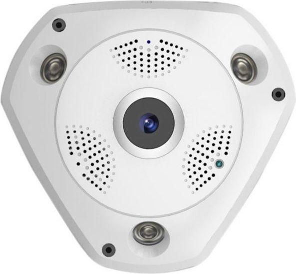 Wireless 3 Megapixel Vr Cam 3d Panoramic 360 Degree View